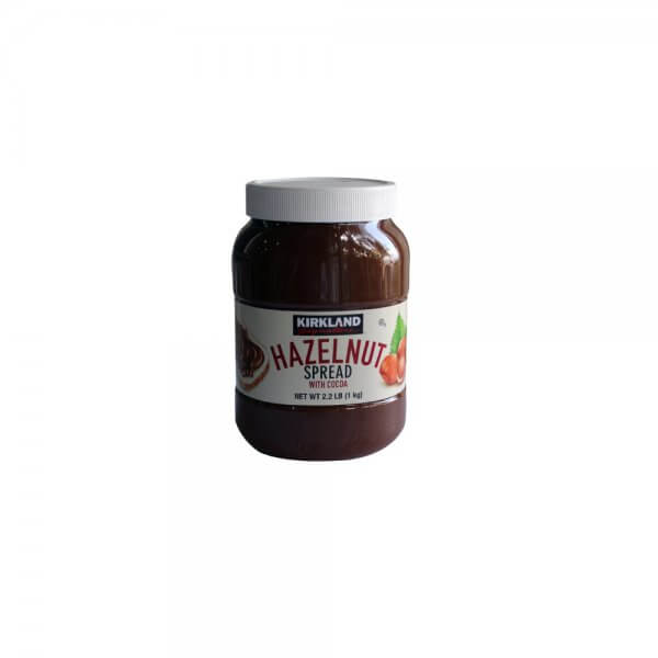 hazelnut spread with cocoa kirkland 1 kg