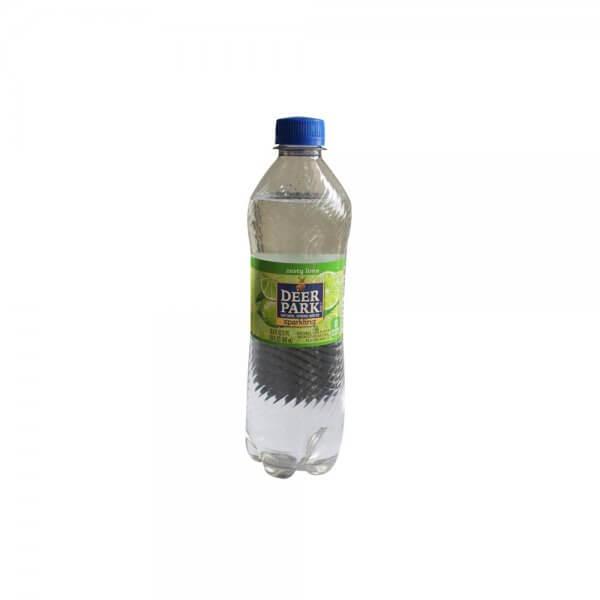 NUTURAL SPRING WATER ZESTY LIME 500 MLDEEP PARK copie