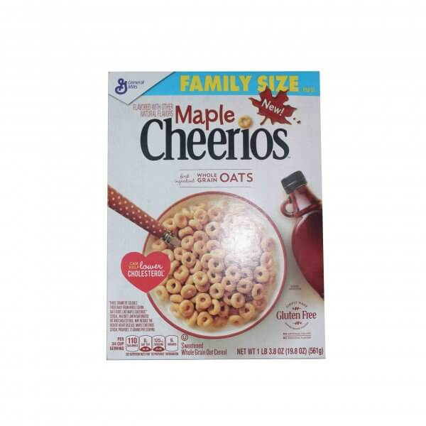 CEREALE MAPLE CHEERIOS 561 G