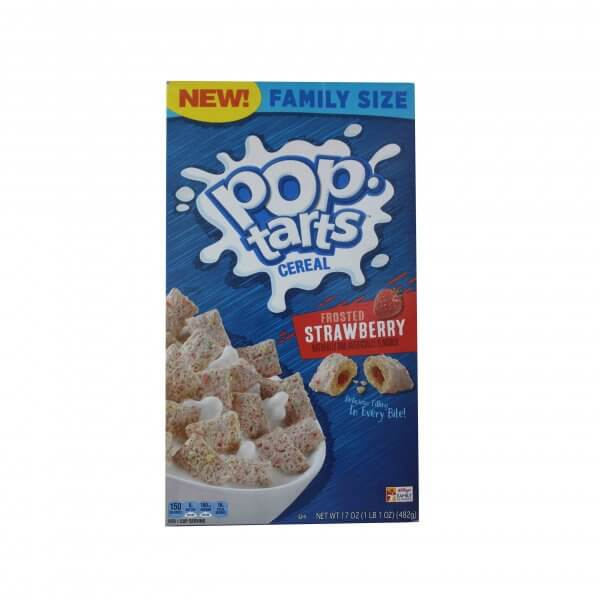 CEREALE POPTARTS FROSTED STRAWBERRY 482 G