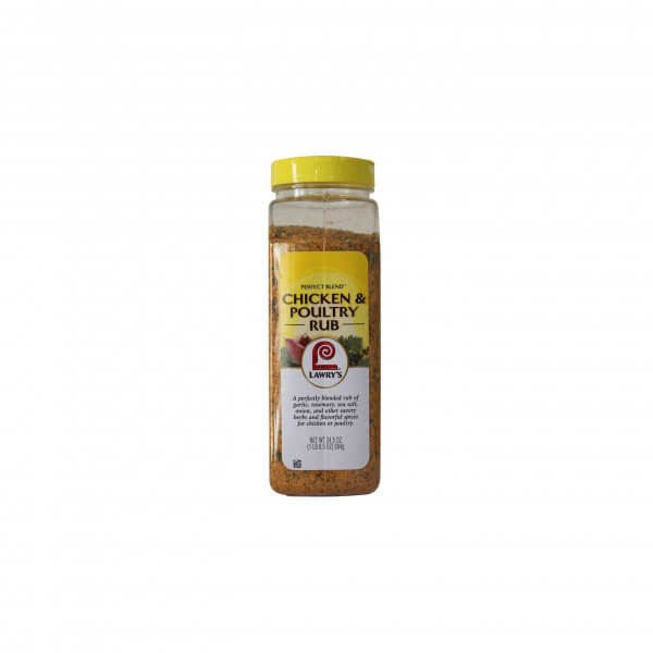 CHICKEN & POULTRY RUB LAWRY'S 694 G