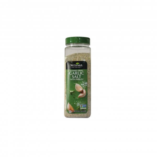 GARLIC SALT WITH PARSLEY MCCORMICK 680 G