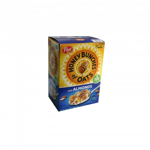 CEREALE HONEY BUNCHES OF OATS WITH ALMONDS