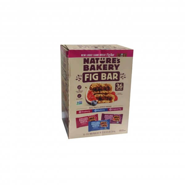 FIG BAR NATURE'S BAKERY 36 TWIN PACK (2)