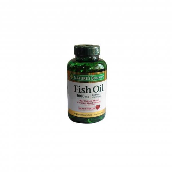 FISH OIL 1000 MG – 145 SOFGELS (1)
