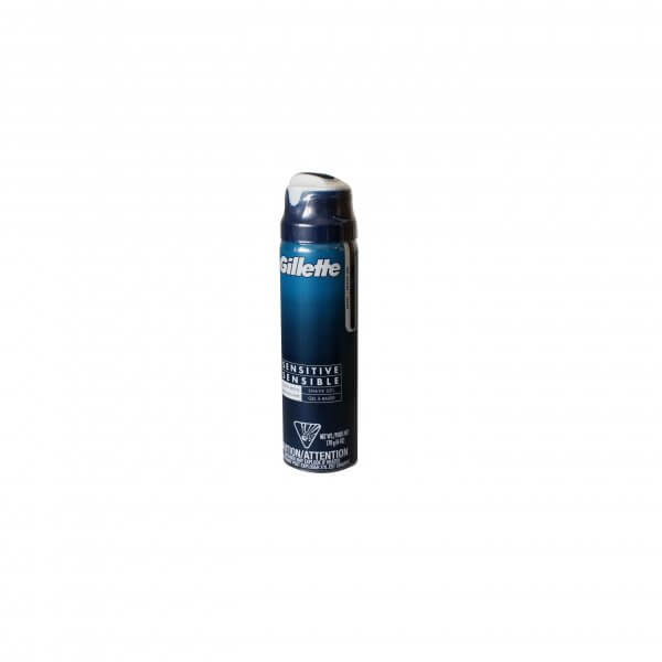MOUSSE A RASER GILLETTE SENSITIVE 170 G